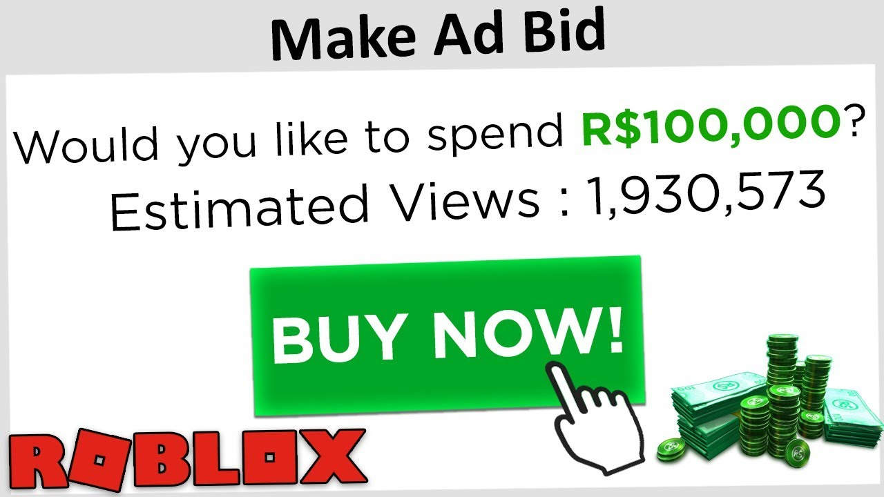 How To Make Good Ads In Roblox Spending 100k Robux On Sub To Pewdiepie Ads Roblox Youtube