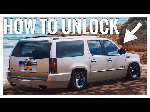 Forza Horizon 4 | How to unlock the Cadillac Escalade Easy & Fast thumbnail