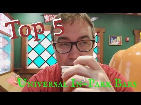 Top 5 Universal Orlando In-Park Bars