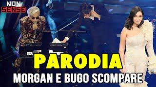 MORGAN E BUGO SCOMPARE - PARODIA Musica E il resto scompare - Elettra Lamborghini (Sanremo 2020)