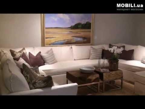 ≥ Модульные диваны, интерьер гостиной,  Julie Browning Bova