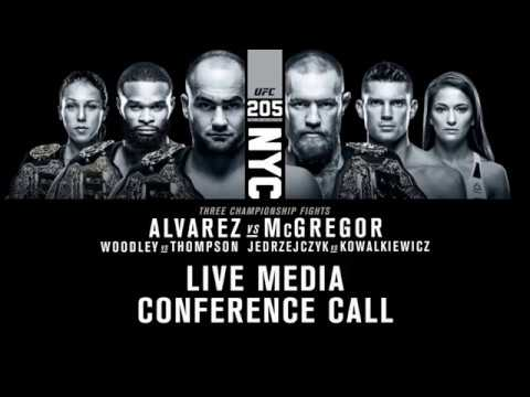 #UFC205 Conference Call Between Conor McGregor and Eddie Alvarez