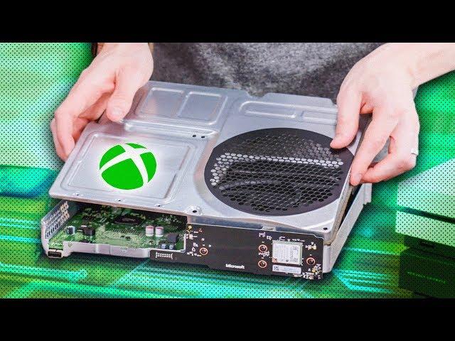 Inside the All Digital Xbox One