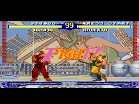 Street Fighter Alpha 2 Gameplay