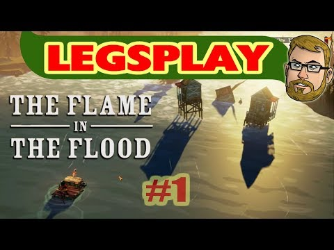 Nothing But a Pupper and a Raft - The Flame In The Flood Part 1 w/ C.B. Radio