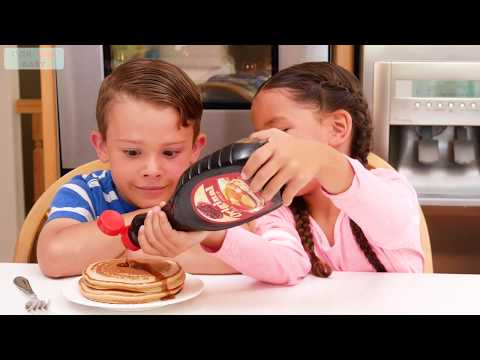 Do You Like Crazy Food ? | Pickle Pancakes | Songs for Kids