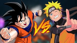 GOKU vs NARUTO - Super Smash Flash 2