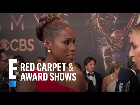 Issa Rae Stuns in Custom Vera Wang Gown at 2017 Emmys