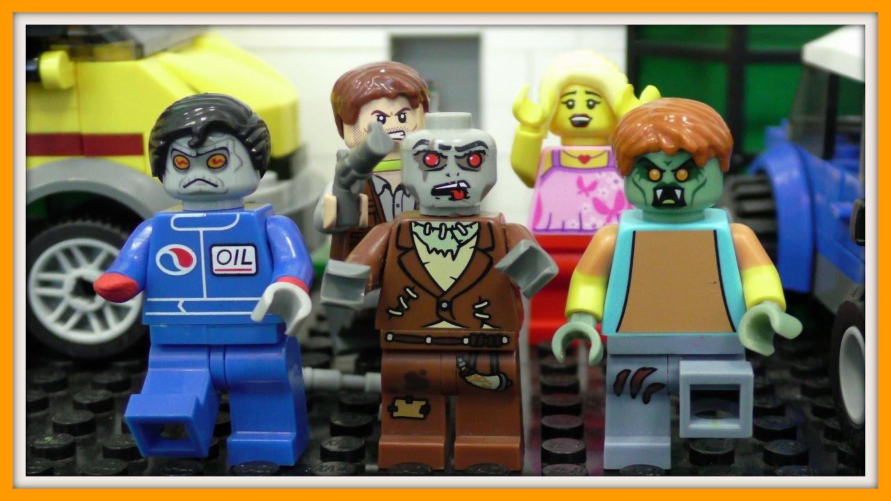 лего зомби байки