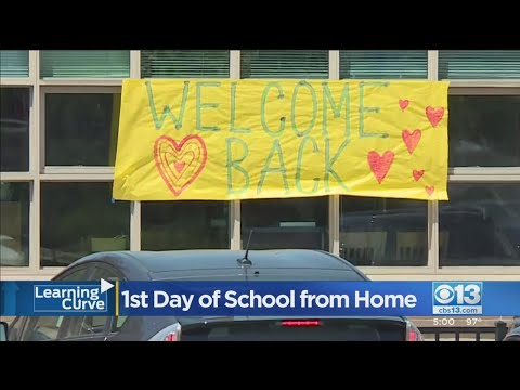 Stockton, Elk Grove School Districts Kick Off School Year With 'Structured' Distance Learning