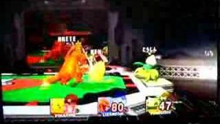 Super Smash Bros. Brawl -  Pikachu vs. Charizard vs. Ivysaur