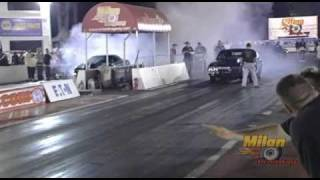 Ron Vance's Chevelle at Milan Dragway's No E.T.