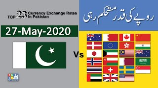 Dollar Rate Today | 27-May-2020 | Forex  Exchange Rates Today | Dollar To PKR | FBTV Markets