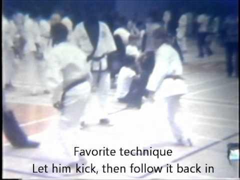 Lester Langdon - quick fight - brown belt - 1975