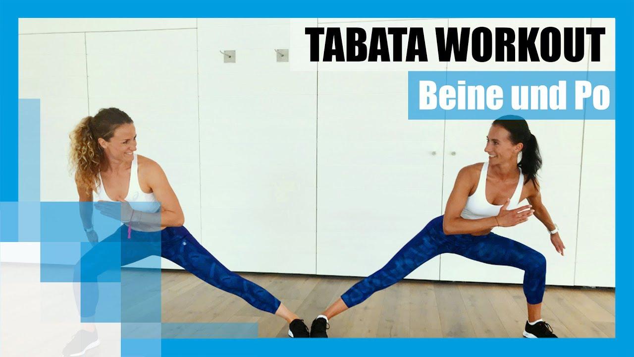 Tabata Workout Das Beste Beine Po Training Ohne Geräte Youtube