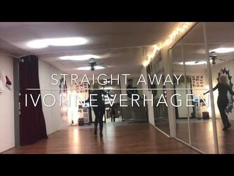 STRAIGHT AWAY, linedance