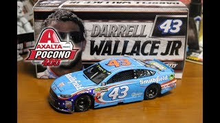 NASCAR Diecast Review - Darrell Wallace Jr. 2017 Pocono First Cup Start Raced Version 1/24