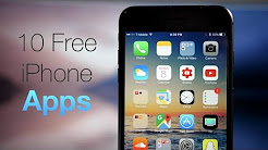 10 Best Free iPhone Apps You May Not Have Heard Of