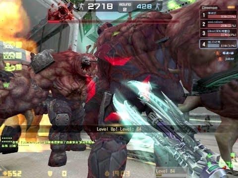 Counter-Strike Online-塔納托斯的斷魂鐮(THANATOS-9) VS 奧茲 (S級泰坦娃娃20日)