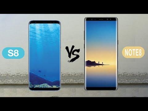 Samsung Galaxy Note 8 VS Samsung Galaxy S8 : Full Comparison
