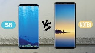 Samsung Galaxy Note 8 VS Samsung Galaxy S8 : Full Comparison