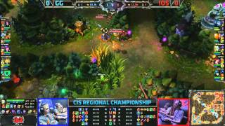 CIS Regional Champpionship Final: Instruments of Surrender vs GamingGear.eu Game 1 (23.06.2013)