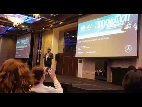 Anti-Counterfeit solution for Spare Parts | Blockchain Solution | Daimler Conference, Dubai - Part 1