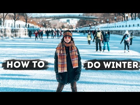THIS is how you do WINTER! | Winterlude, Ottawa