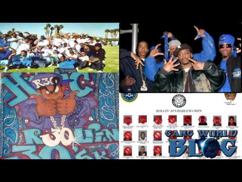 Rollin 30 Original Harlem Crip (South Los Angeles)