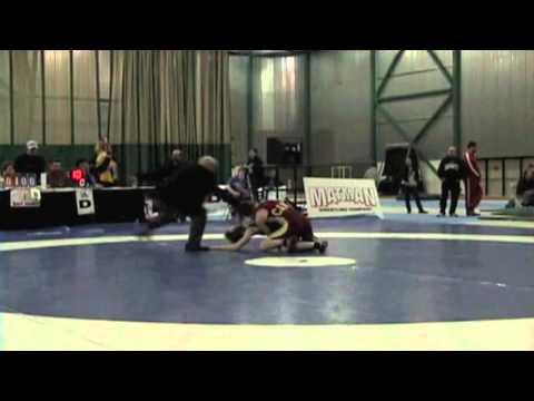 2009 Senior National Championships: 51 kg Vanessa Brown vs. Sam Stewart