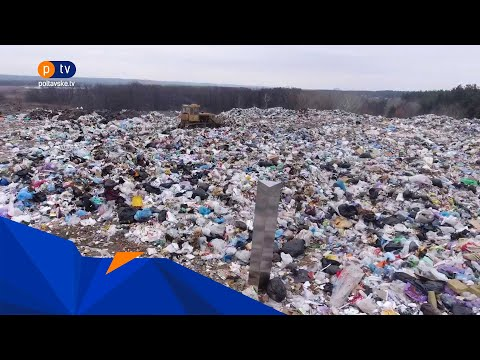 PTV Полтавське ТБ: Загадковий металевий моноліт з'явився й у Полтаві, встановили його на Макухівському сміттєзвалищі