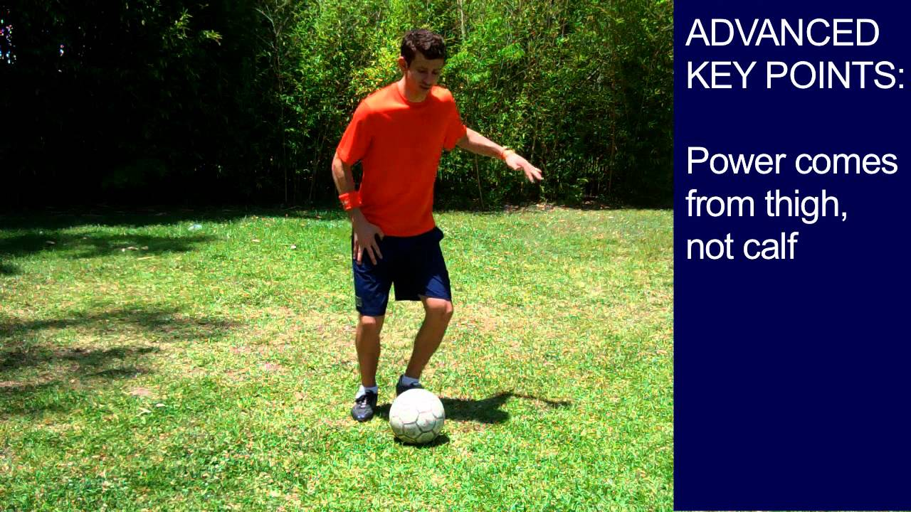 how to pass a soccer ball youtube