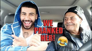 FAILING MY DRIVING TEST PRANK ON MY MOM!!! *gone wrong*