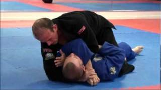 Brazilian Jiu Jitsu - Snake Choke From Mount