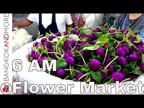 6 AM @ FLOWER MARKET BANGKOK - PAK KHLONG TALAT