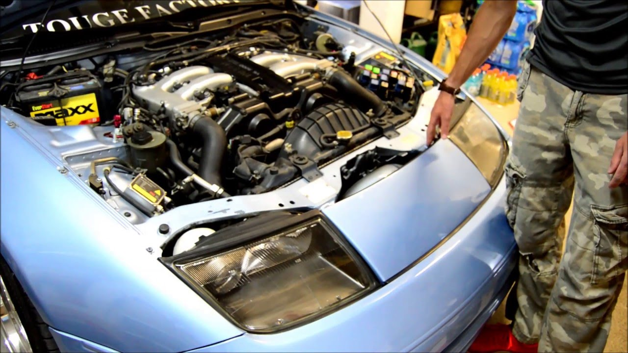 Nissan 300zx Engine Diagram Intake Wiring Libraries 93 Cold Air For The Youtubenissan 19
