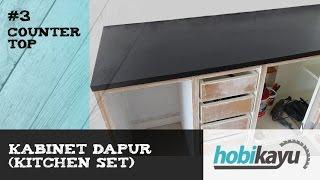 Video DIY Concrete Countertop (Kitchen Cabinets Part 3) download MP3, 3GP, MP4, WEBM, AVI, FLV Agustus 2018