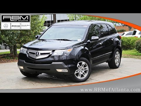 Used 2008 Acura MDX BASE ATLANTA, GA M32703A SOLD!