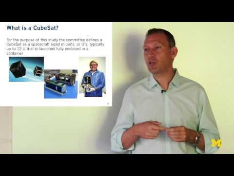 Achieving Science with CubeSats | Thomas Zurbuchen