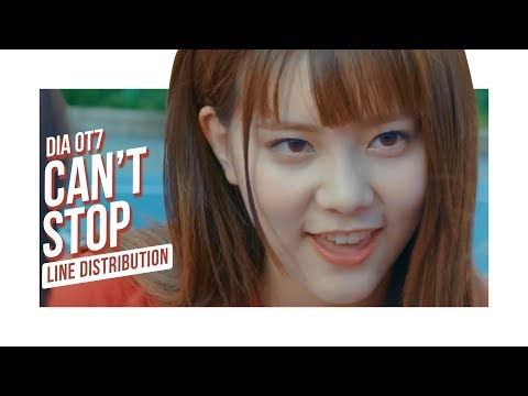 DIA OT7 - Can't Stop (Line Distribution)