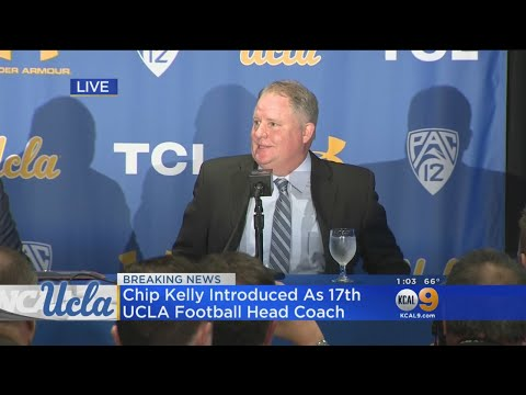 Chip Kelly Introduced As 17th UCLA Football Head Coach