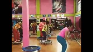 Clase de jumping en EXPLOSSION FITNESS DANCE, chio bubulubuena