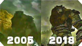 SHADOW OF THE COLOSSUS : 2005 VS 2018 : GRAPHICS COMPARISON