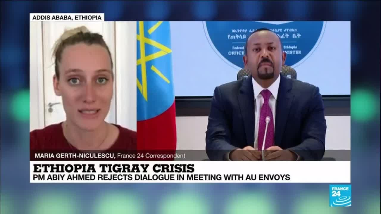 Ethiopian PM Ahmed rejects Tigray conflict talks in AU meeting