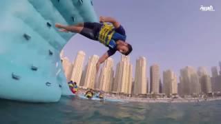 دبي تحتضن أكبر حديقة مائية عائمة في العالم يتوقع دخولها غينيس