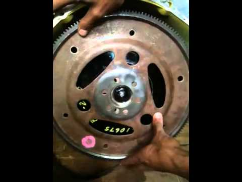 Flex Plate With Spacer Youtube