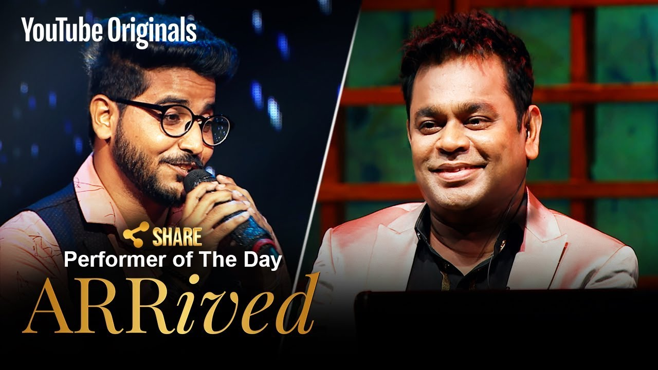 A. R. Rahman | Swagat Rathod | Performer Of The Day | #ARRivedSeries