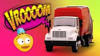 My Red Garbage Truck | New Episode | Construction Cartoon For Kids