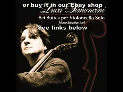 Luca Simoncini - Bach Suite N.5 Corrente