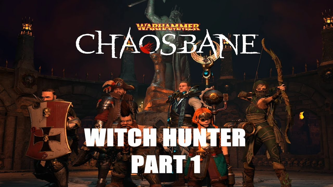 Download THE WITCH HUNTER IS SO GOOD!- Warhammer Chaosbane Xbox series x Witch hunter playthrough (#1)